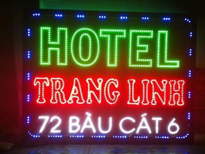 Bảng hiệu điện tử Trang Linh  phá cách