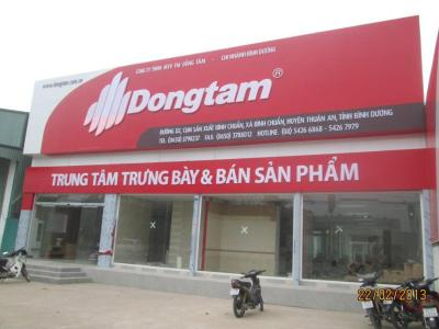 Bảng hiệu quảng cáo Đồng Tâm  sang trọng