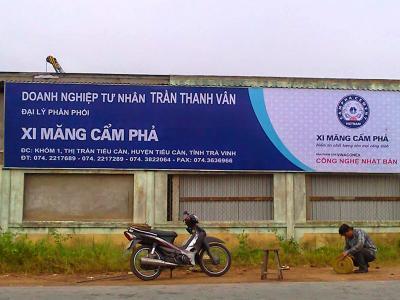 Biển quảng cáo Xi Măng  phá cách